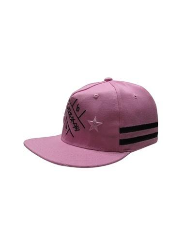 Laslusa Hip Hop Snapback Şapka Pembe